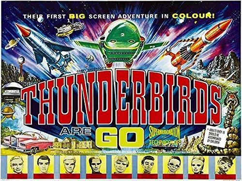 (Thunderbirds are GO - 1966 - Movie Poster)