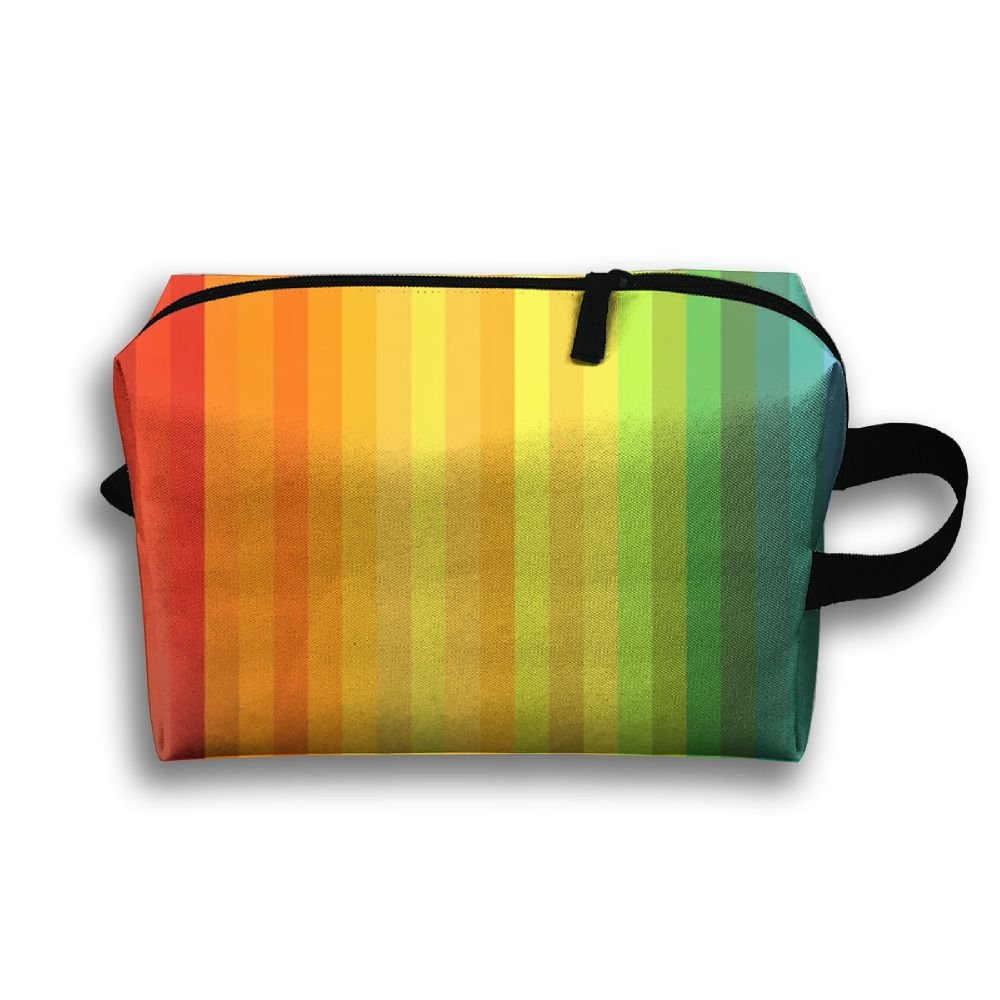 doginthehole Colorful Print Passport Wallet Crossbody Pouch Travel Anti theft Bag