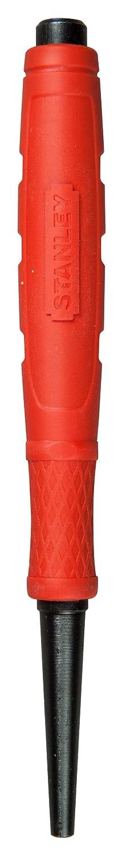 Stanley 0-58-913 Chasse clous avec Dynagrip, Jaune/argent, 2,4 mm