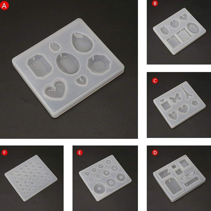 FifijuanC Molde redondo de silicona para regar peque/ñas macetas de silicona