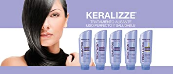 THE BEST KERATIN TREATMENT FORMOL FREE SET KERALIZZE 5 STEPS (5 UNITS X400 ML)