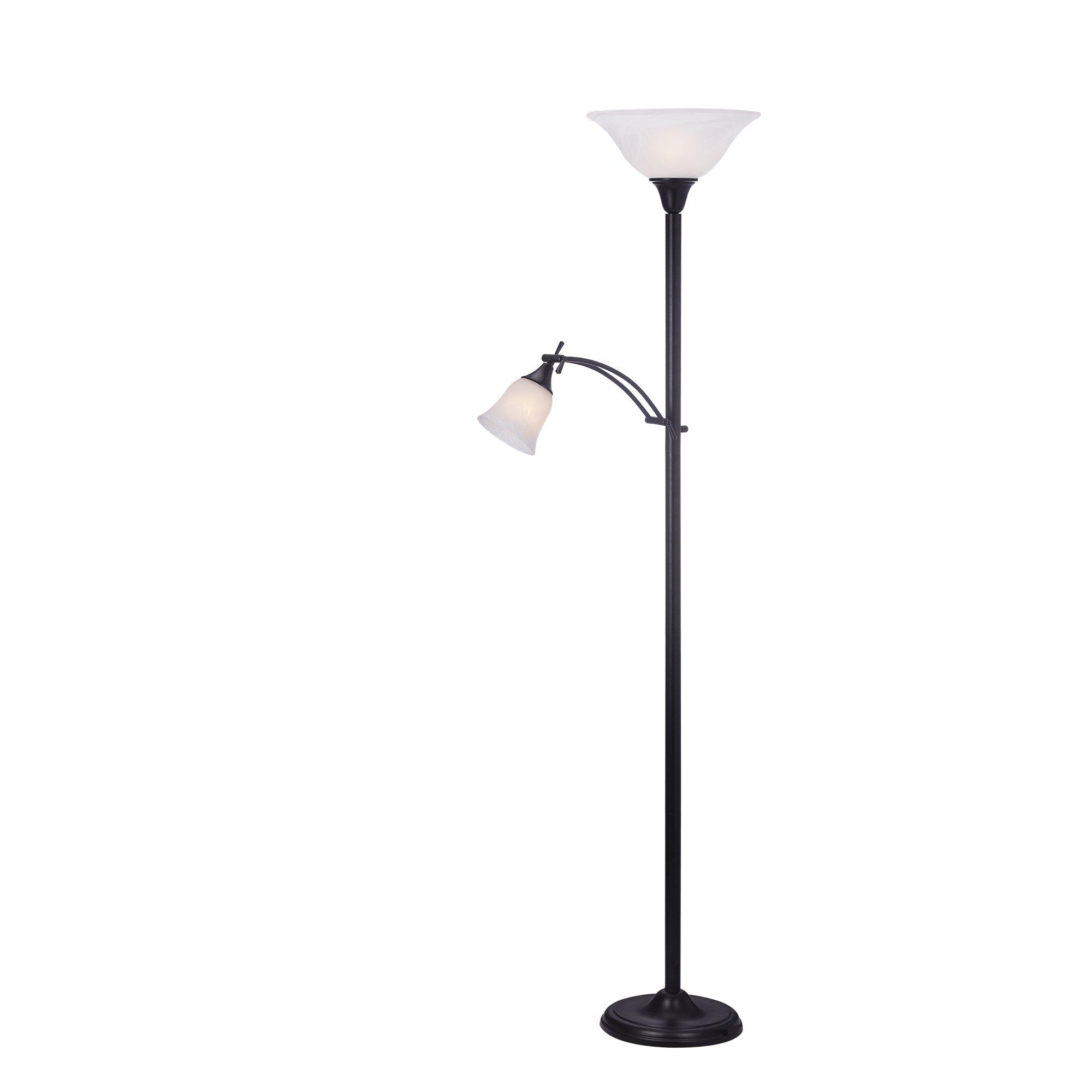 Martin Richard W-1436BLK Mother/Daughter Floor Lamp in Black72''