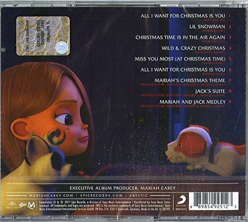 various mariah careys all i want for christmas is you original motion picture soundtrack amazoncom music - All I Want For Christmas Is You Mariah Carey Lyrics
