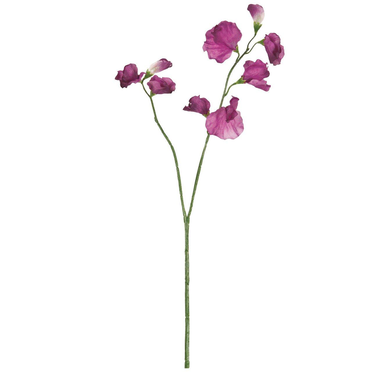 MAGIQ 東京堂 上質な造花 リリックスイトピー パープルオーキッド FM005034-012
