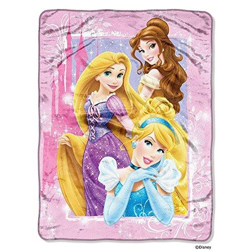 Disney Princess Classic Dreams Throw Blanket - 46