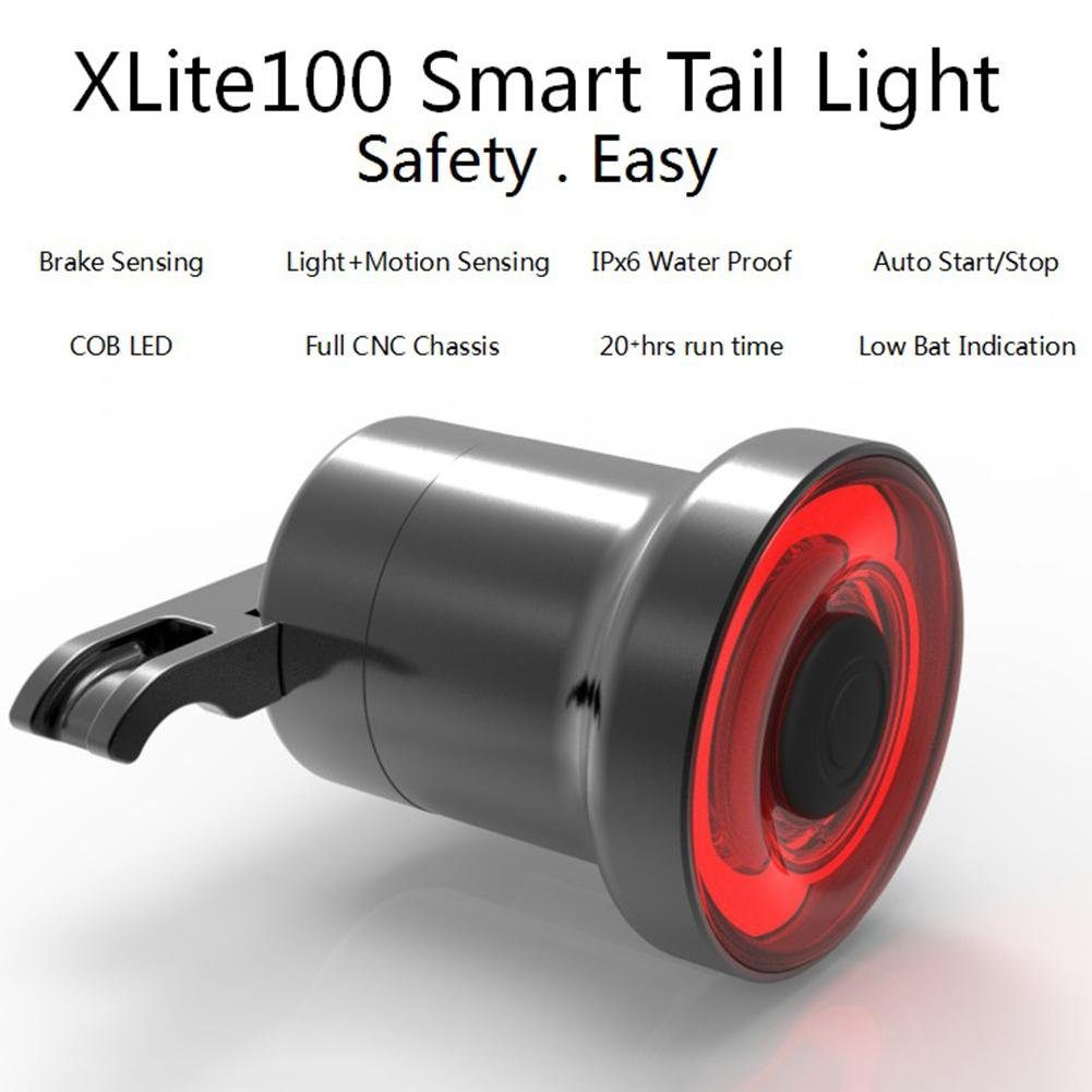 Smart Bike Tail Light Ultra Bright with Brake Sensing USB Rechargeable Waterproof LED Bicycle Tail Light Auto On/Off, High Intensity Rear Back Light Fits On Any Road Bike Easy to Install blue--net