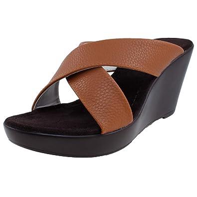 51d85881a9e Amazon.com  Agape PAMELA-68 Lightweight Comfort Platform Wedge ...