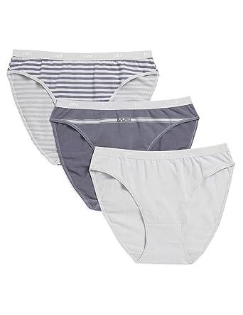 Dim - Les Pockets Coton - Slip - Lot de 3 - Femme  Amazon.fr ... ab3af4ad611