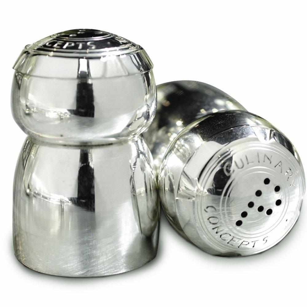 champagne cork salt  pepper set amazoncouk kitchen  home -