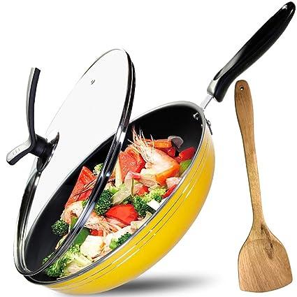 Amazon.com: Juego de sartenes antiadherentes Gz Cookware de ...