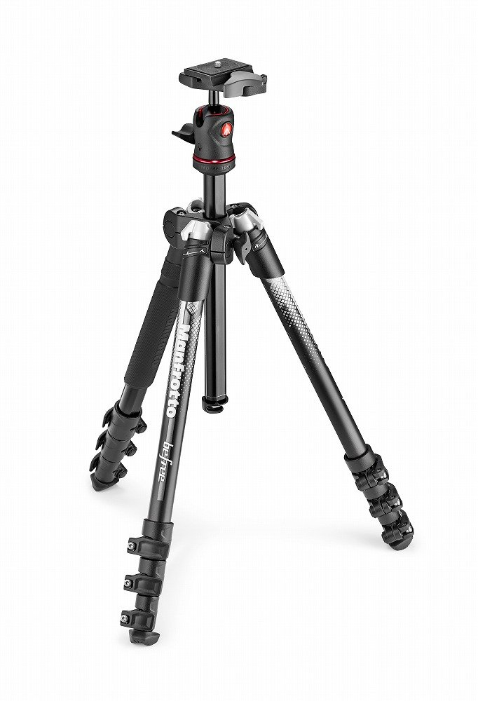Manfrotto Be Free Colour Aluminium Travel Tripod Kit - Grey