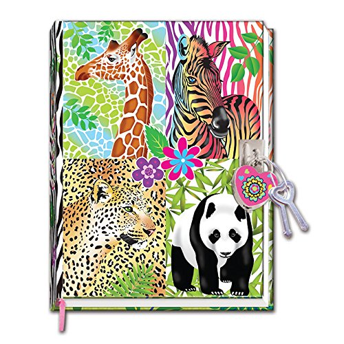 - Hot Focus Magic Safari Diary with Lock in a Sealed PVC Package