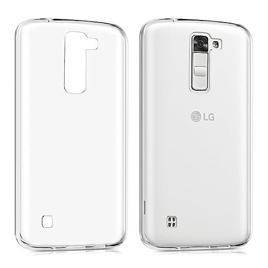 5 opinioni per kwmobile Cover per LG K7- Custodia in silicone TPU- Back case protezione