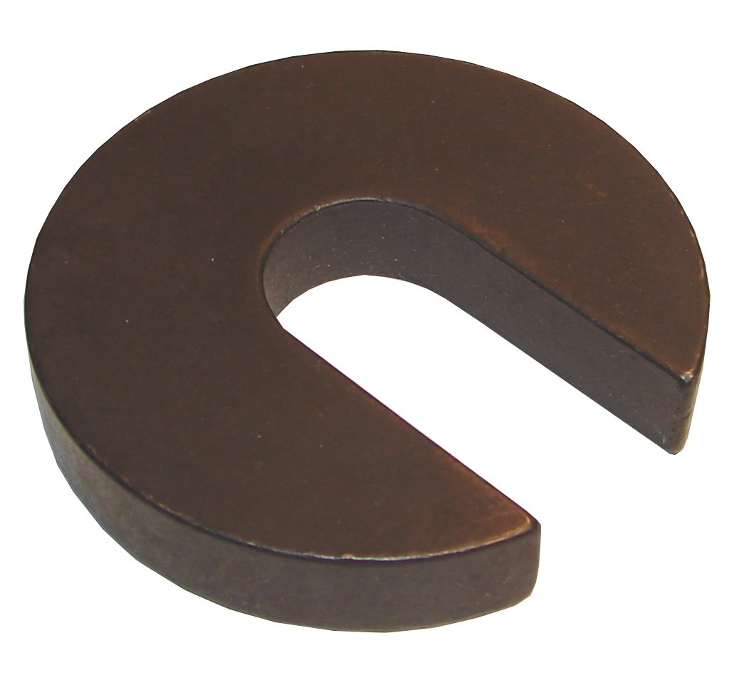Morton CW-123 Black Oxide Low Carbon Steel Flat C Washer, 1'' Stud Size, 1-1/32'' ID x 3'' OD, 9/16'' Thick