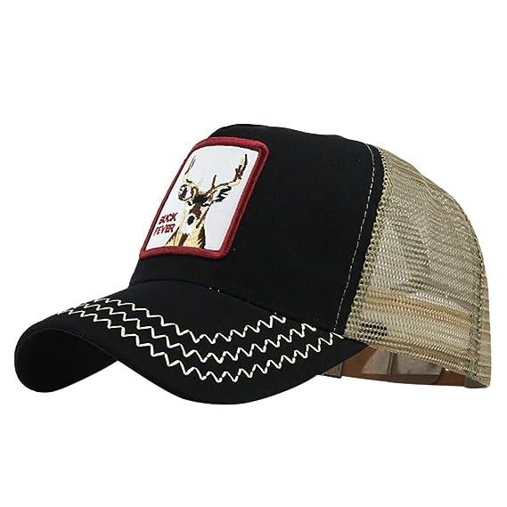 Gorra de Béisbol Hombre y Mujer, Uribaky Clásico del Algodon Hip ...