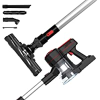 Advwin Cordless Vacuum Cleaner, 1200Pa 3 in 1 Powerful Filter Handheld Wireless Vacuum Cleaner with LED Light and Wall…