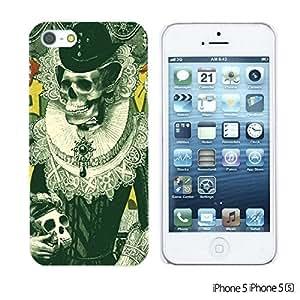 Skull Pattern Hardback For SamSung Galaxy S6 Case Cover - Designed Black skull Illustration