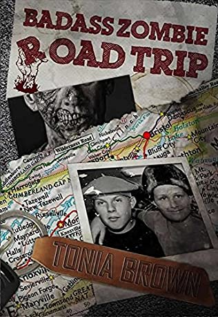 book cover of Badass Zombie Road Trip