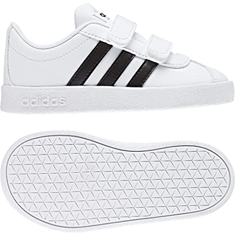 sports shoes fc827 a8bab adidas VL Court 2.0 Cmf I, Scarpe da Ginnastica Basse Unisex-Bimbi 0-