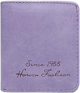 Ladies Fashion Mini Slim Wallet Multicard Portefeuilles Avec les boutons, A Blancho Bedding