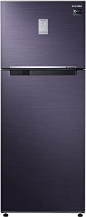 Samsung 465 L 3 Star Frost Free Double Door Refrigerator(RT47K6238UT/TL, Blue, Convertible)