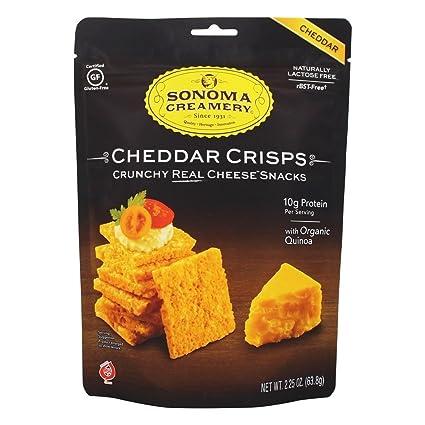 Sonoma Quesería, Cracker, tamaño de Cheddar crujientes, 12 ...