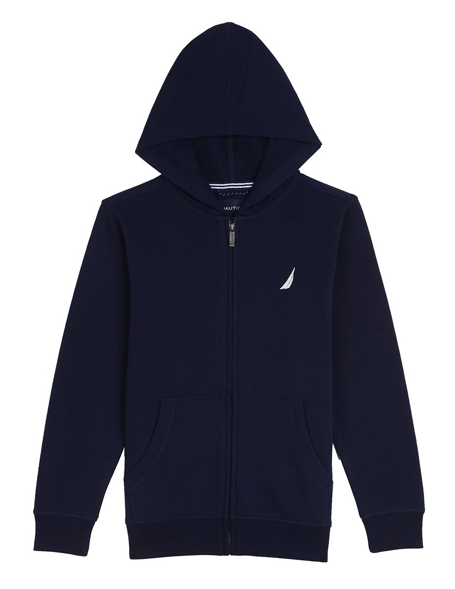 Nautica Boys Fleece Full Zip Hoodie