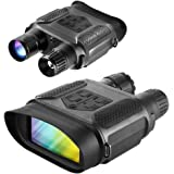 DoCred Night Vision Binoculars Hunting Binocular Digital Infrared Night Vision Hunting Binocular with Large Viewing Screen Can Take Day or Night IR 5mp Photo & 640p Video from 400m/1300ft