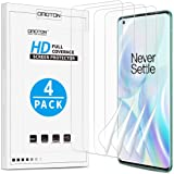 OMOTON [4 Pack] Screen Protector for OnePlus 8 Pro - Ultra Clear, High Definition TPU Protective Film for OnePlus 8 Pro…