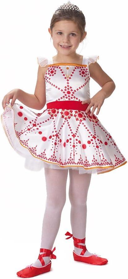 Caritan – 480056 – Ballerina – Disfraz de Gala para 5 – 7 años ...