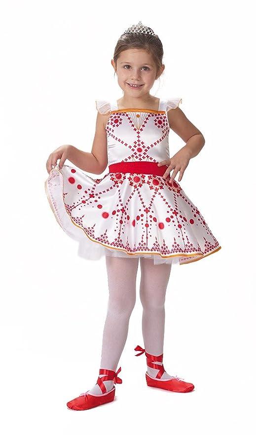 Caritan 480056 ballerina vestito di gala per bambine di 5 7 anni
