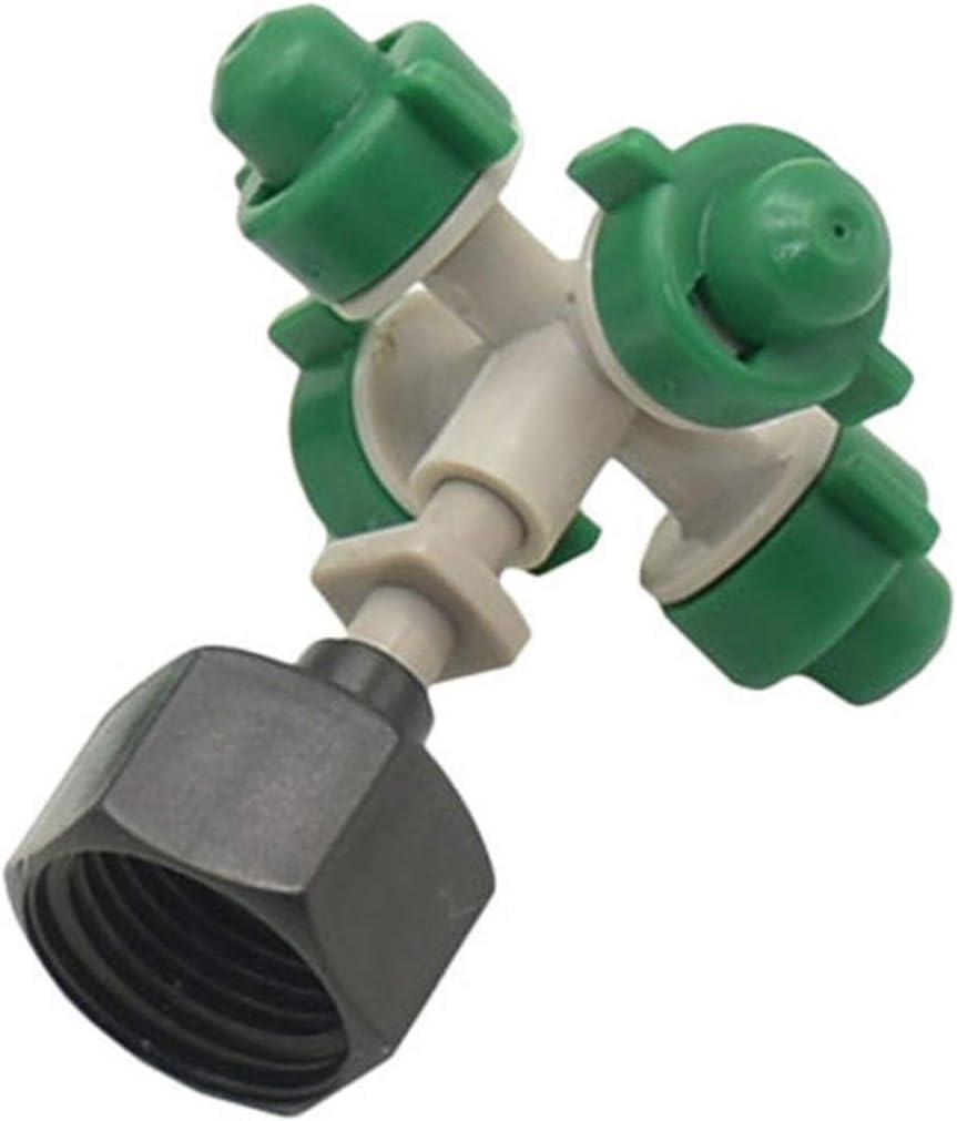 Extremo del conector para el riego Manguera de jar Jard/ín de 6 mm de deslizamiento de bloqueo del codo conector 1//8 agua de riego Acoplamiento adaptador 1//4 3//8 1//2 3//4 rosca macho neum/ática r/ápi