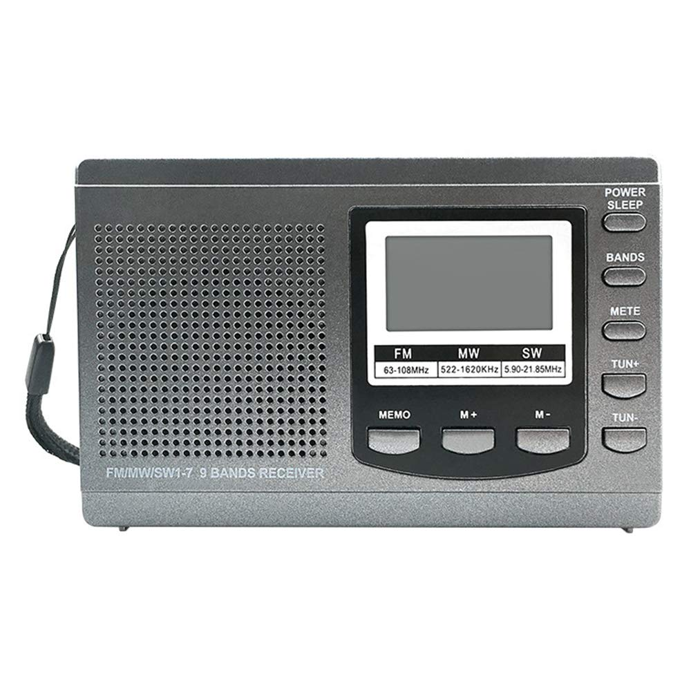 Household appliances Portable FM AM Radio, Equipped with a Quick Mute Button. Can Store 60 Stations, AOYS by Household appliances