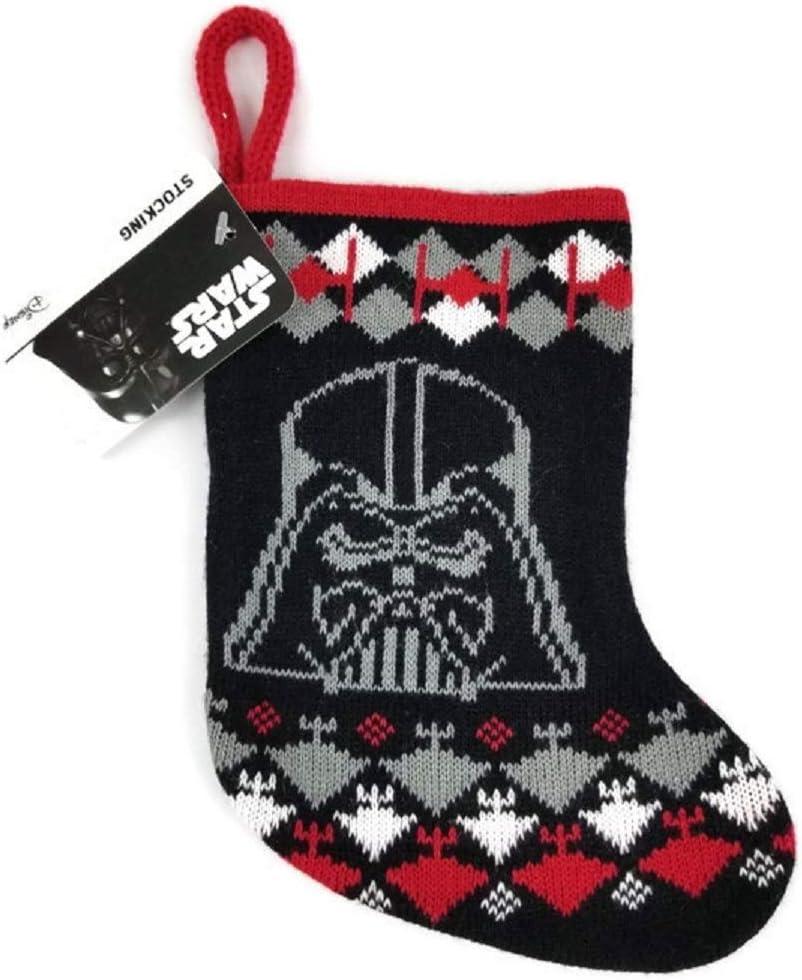 "Ruz Star Wars Darth Vader Christmas Stocking - Mini 8"" Knit - Darth Vader"