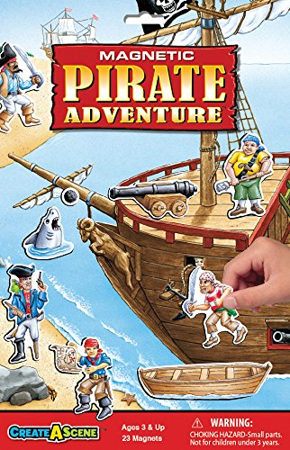 (Create-A-Scene Magnetic Playset - Pirate Adventure)