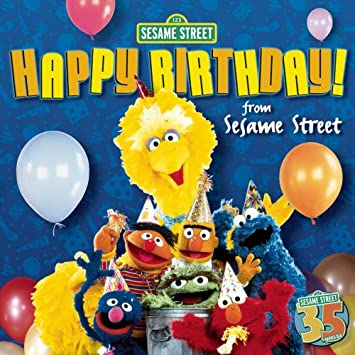 Happy Birthday From Sesame Street Jewel Case