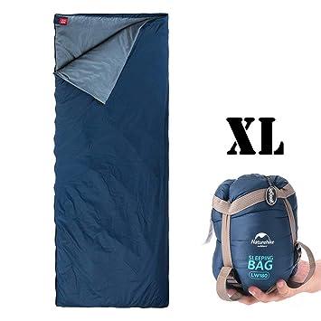 Saco de dormir para exteriores ieGeek, ultraligero y rectangular, bolsa de compresión multifunción, 3 estaciones, ...