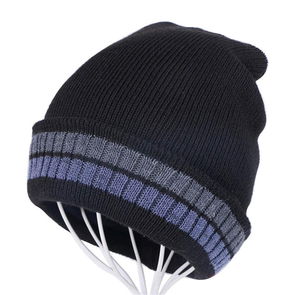 d1c93f1305e190 Mens Winter Warm Knitting Hats Baggy Baggy Baggy Slouchy Beanie Hat Suit  for Indoors and Outdoor Sports e734c5