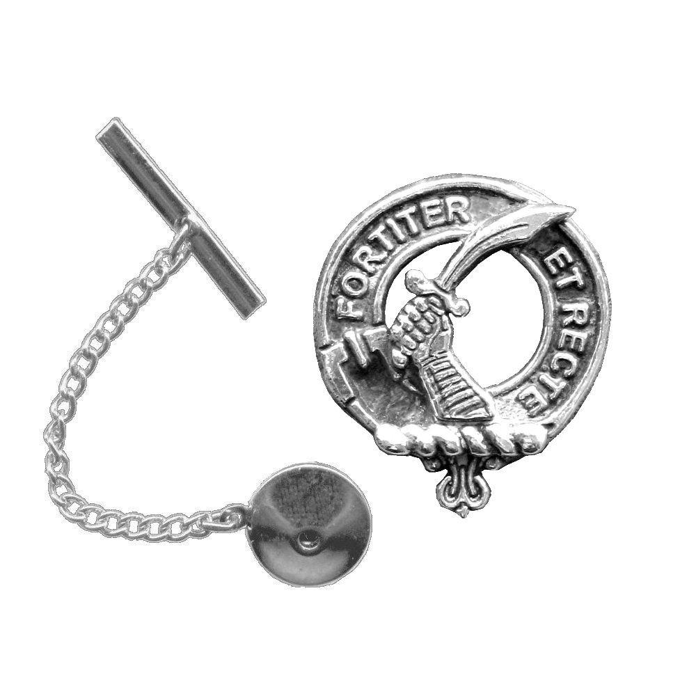 Elliott Scottish Clan Crest Tie Tack / Lapel Pin