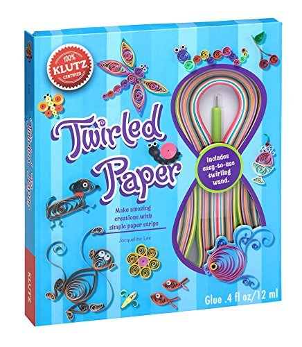 Twirled Paper Kit - Twirled Paper Book Kit-