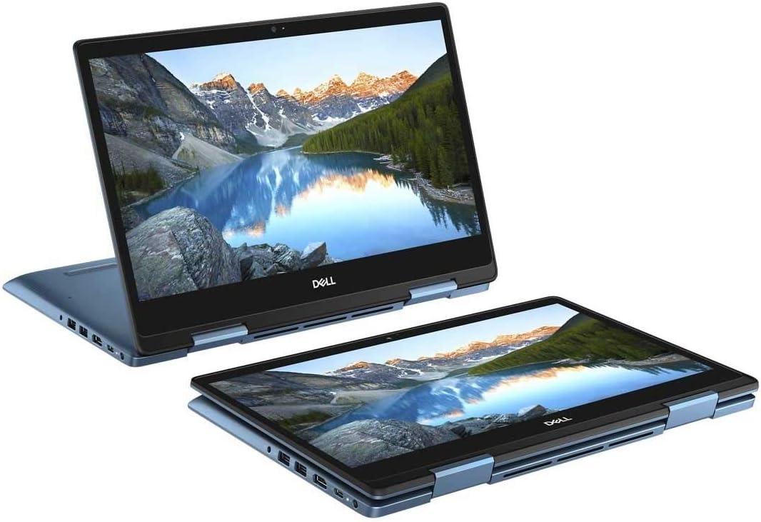 """Dell Inspiron 5485 AMD Ryzen 7 3700U X4 4GHz 8GB 512GB SSD 14"""" Touch,Blue(Renewed)"""