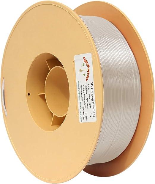 RepRapper1kgPETG3Dプリンターフィラメントホワイト1.75mm+印刷ビルド表面+ノズル洗浄針