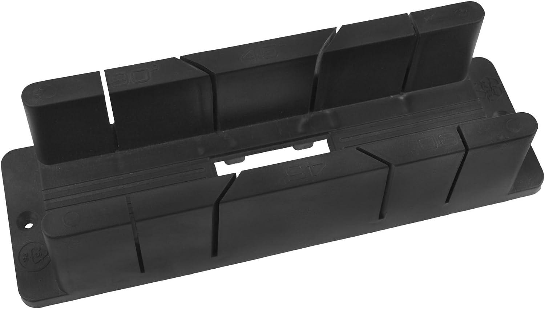 Caja de ingletes de plástico 45 de corte perfil recto de 90 grados ...