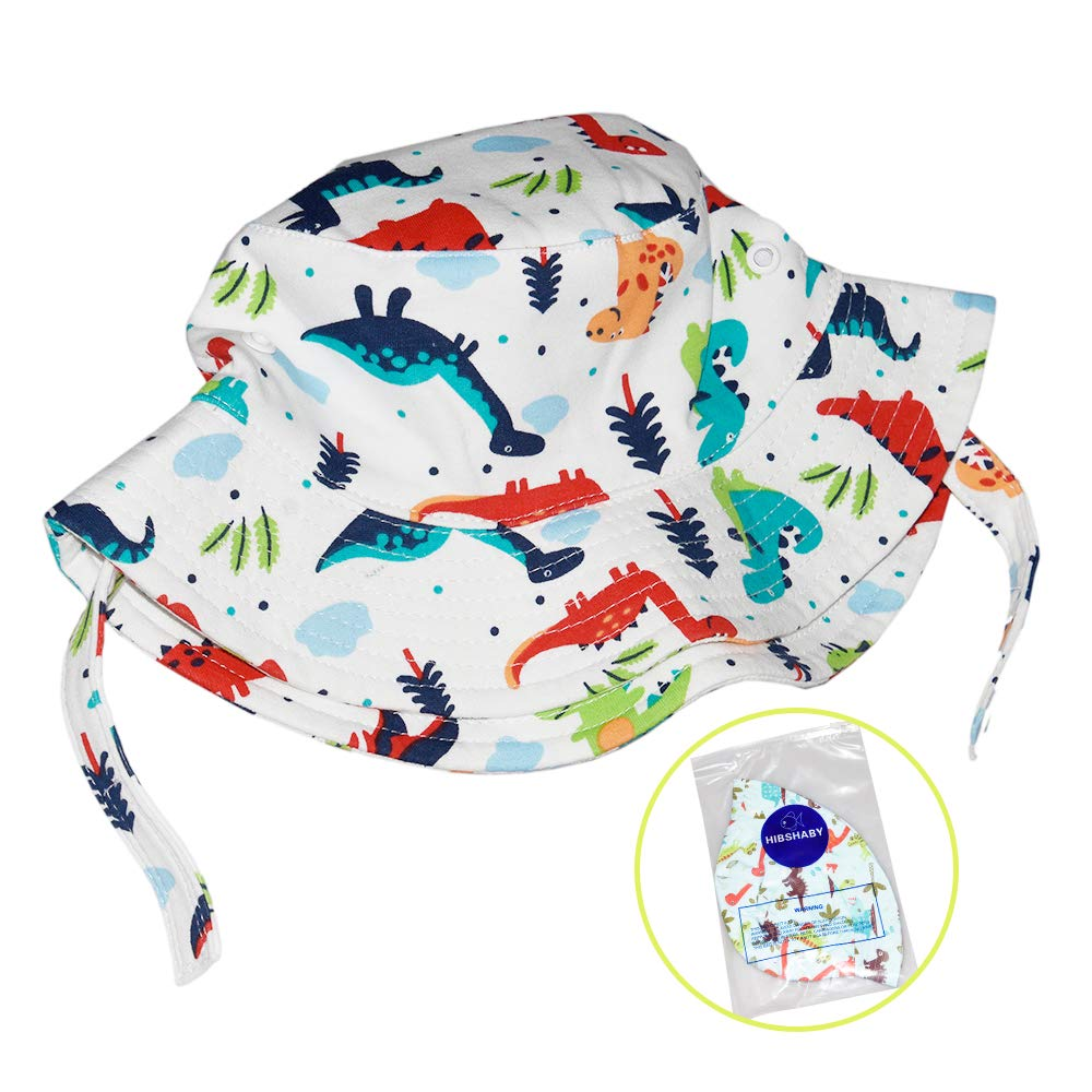ce0fcc8e Amazon.com: Hisharry Toddler Boy Bucket Hat- Cute Baby Girl Kids Sun UV  Protection Shark Animal Hat: Clothing