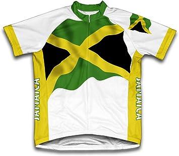 Jamaica Bandera Maillot de Ciclismo Manga Corta para Hombre - Talla XL: Amazon.es: Deportes y aire libre