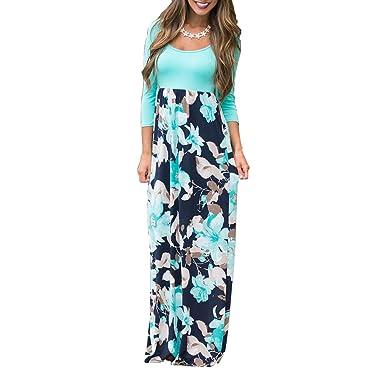 Semir Womens Summer Maxi Dresses Petite Fall Wedding Guest Long Dress