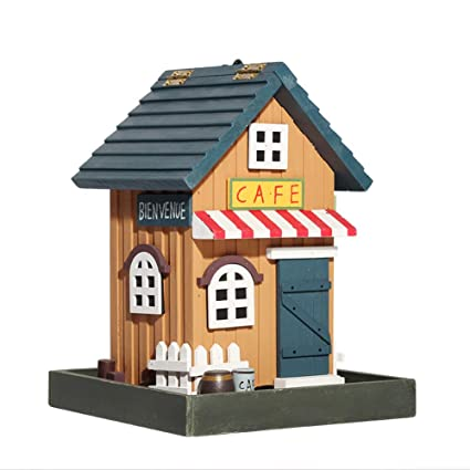 Terrific Amazon Com Wood Bird House Retro Arts And Cafe Store Bird Interior Design Ideas Tzicisoteloinfo