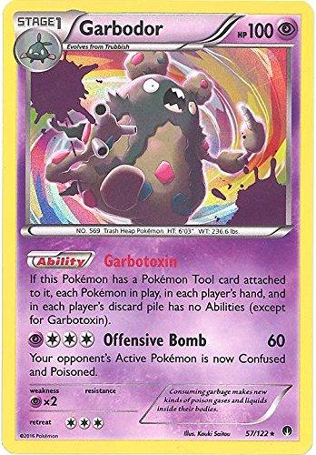 Amazon.com: Pokemon – garbodor (57/122) – XY punto de ...