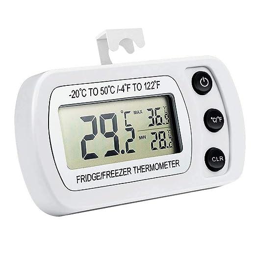 Termómetro De Congelador/Nevera, Resistente Al Agua Y Función ...