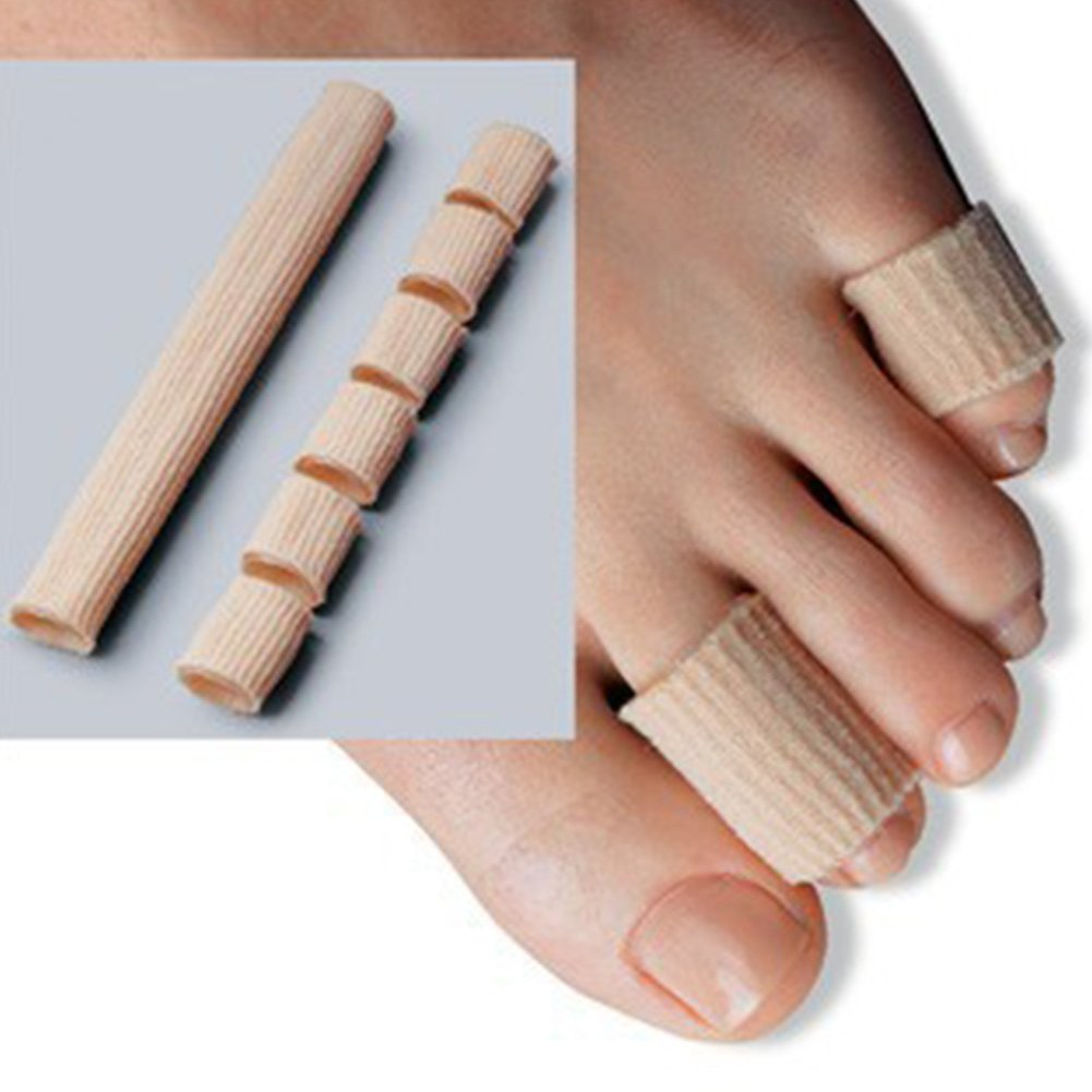 Cuttable Toe Tubes,Toe Sleeve Protectors Relief Toe Pressure Pain,Corn and Calluses Remover With Silicone Gel by cyclamen9 (Image #3)